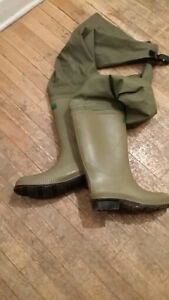 *bottes IMPERMEABLES - WATERPROOF boots - homme taille 11*