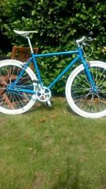 Single Speed London Bike