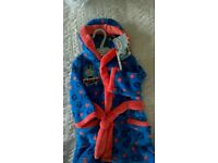 Thomas the tank hooded dressing gown