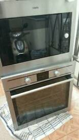 Aeg integrated oven & microwave oven & Grill