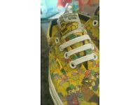 Beatles Yellow Submarine Vans size 5
