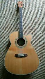 Tanglewood Nashville electro acoustic guitar