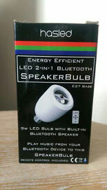 """HASLED """"BLUETOOTH SPEAKER BULB"""" HIGH QUALITY , LOW ENERGY, WITH REMOTE CONTROL"""