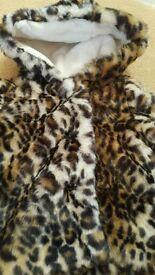 New Debenham's Animal print jacket