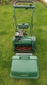 Atco balmoral 14S SE cylinder lawn mower