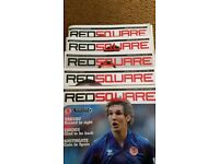 Red Square Match Day Middlesbrough FC Programme 2006 lot