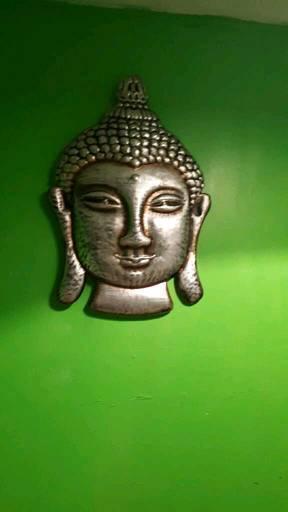 Large Buddha heads