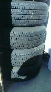 P185/75R14 - 4x All Season Tires with Rims @40$ each, Touring AS
