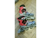 No fear roller blades size 5