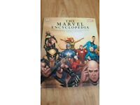 Marvel encyclopedia large hard back book with dust cover
