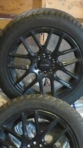 17 in winter tire on alloy rims