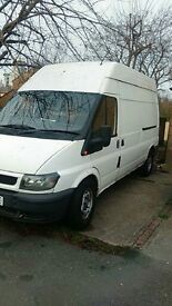 ford transit lwb start drive good