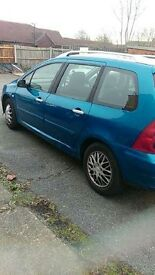 7 seat family car seven seater start drive good hdi diesel estate sw se cheap car qiuck sale cheap