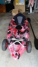 Fishing Kayak, wheels included Elermore Vale Newcastle Area Preview
