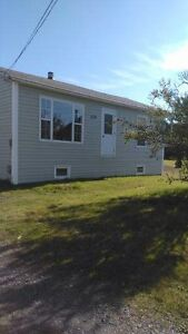 Two bedroom house for rent in Gander Bay South