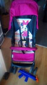Minnie mouse hauk stroller