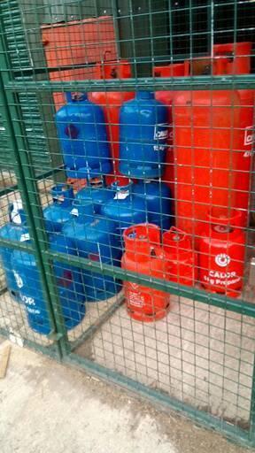 Gaz bottles