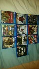 New games imaculate condition give me an offer