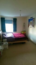 Bedroom in 2 bed flat share for rent