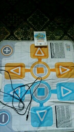 Wii Family trainer with mat