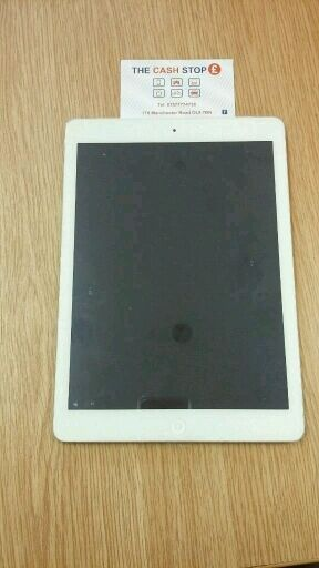 *FREE DELIVERY*OFFERS Apple iPad Air 1 16GB - WiFi and Cellular - Unlocked - White and Silver