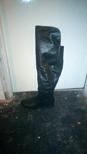 dc7fef70ed3 Ladies knee high boots wide fit
