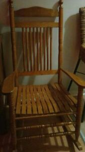 larger sized rocking chair
