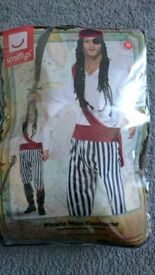 Smiffys pirate man costume Halloween fancy dress