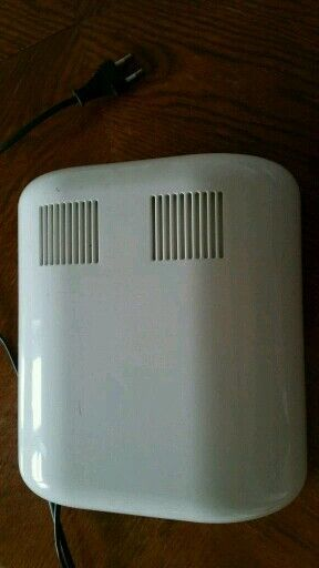 36 Watt Professional UV Nail Lamp Nail Dryer for UV Gel with 4 Blubs White