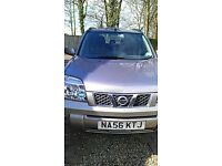 Nissan X Trail, new exhaust and tyres.