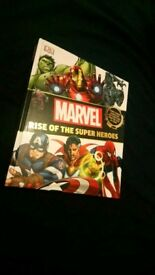 Marvel: Rise Of The Superheros. Book.