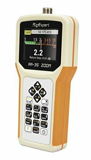 RigExpert AA-35 Zoom HF Antenna Analyzer (60kHz - 35MHz)