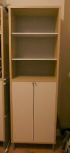 IKEA Magiker bookcase shelf with doors