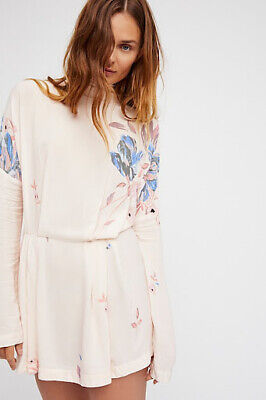 NWT $108 Free People Gemma Ivory Large Dress