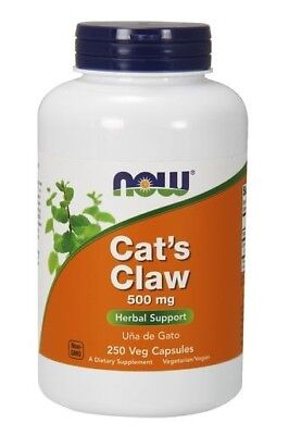 Cat's Claw 500mg Now Foods 250 Caps 250 Caps Now Foods