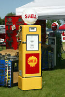 Gas Pumps; Texaco, Shell, White Rose, B/A, Red Indian, GULF,etc.