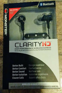 ClarityHD High Performance Wireless Earbuds