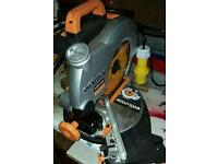 110 v 210mm Compound Mitre Saw