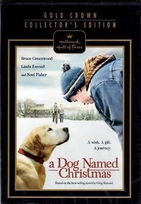 A Dog Named Christmas  - Hallmark Hall of Fame (DVD) Brand New