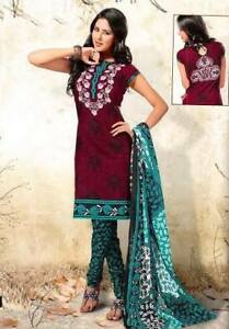 SEMI STITCHED OR STITCHED COTTON SUITS. INDIAN CASUAL/PARTY WEAR