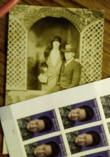 Bonnie and Clyde Parker Photo postcard type original