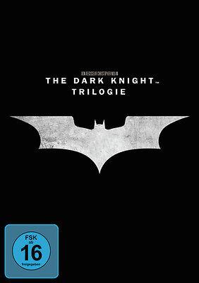 ight Trilogy, Trilogie * NEU OVP * 3 DVD Box (Batman)