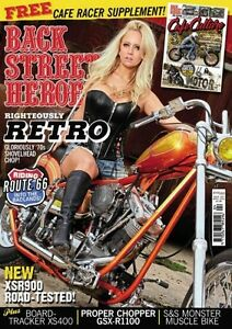 BACK STREET HEROES MAGAZINE #384 APRIL 2016 (NEW)