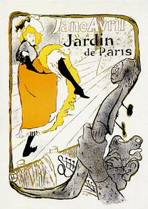 CPT013-CARTE-POSTALE-NEUVE-theme-art-TOULOUSE-LAUTREC-JANE-AVRIL