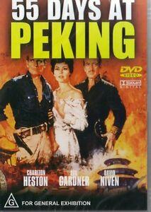55-DAYS-AT-PEKING-HESTON-NIVEN-NEW-SEALED-DVD