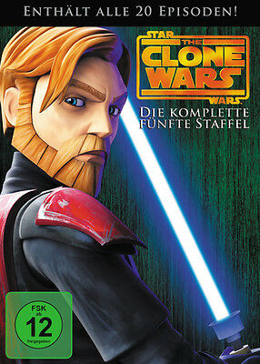 Star Wars: The Clone Wars Season/Staffel 5 * NEU OVP * DVD Box