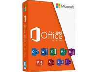 MICROSOFT OFFICE 2016 PROFESSIONAL PACKAGE FOR WINDOWS & MAC