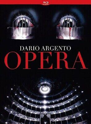 Combo Blu-Ray + 2 DVD du Film OPERA (Dario Argento)-Edition Chat qui fume-Rare !
