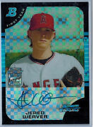Jered Weaver Chrome Auto