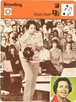MARK ROTH 1979 Sportscaster Card #70-03 High #  Bowler